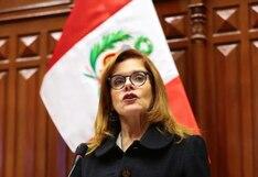 """Mercedes Araoz: """"Mi renuncia ha sido irrevocable y no puedo cambiar mi posición"""""""