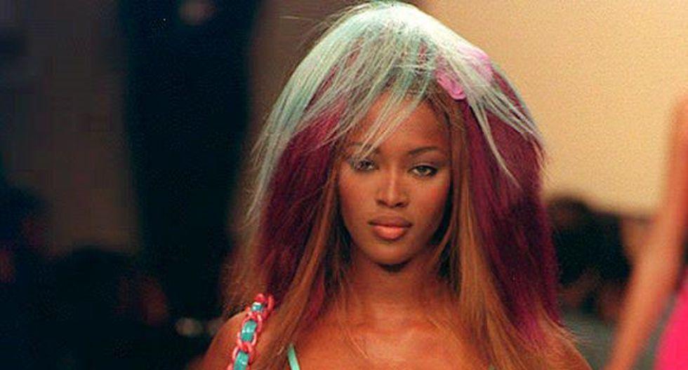 Naomi Campbell se abrió camino en el mundo del espectáculo y la moda a los 15 años. (Fotos: AFP)