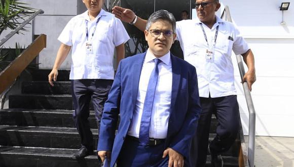 José Domingo Pérez sustentó pedido para suspender actividades de Fuerza Popular (Foto: Jessica Vicente)