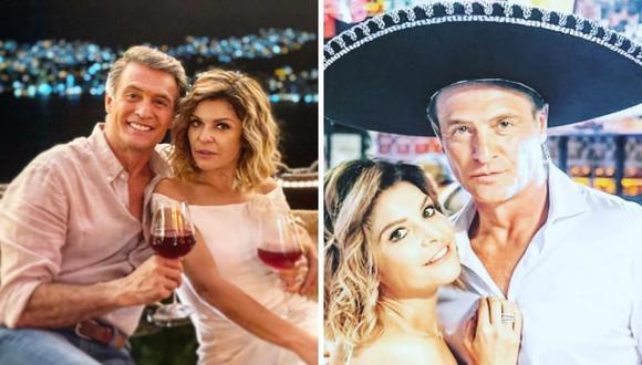 """Juan Soler e Itatí Cantoral comparten escenas de romance por la telenovela """"La mexicana y el güero"""". (Foto: Instagram / @itatic_oficial)."""