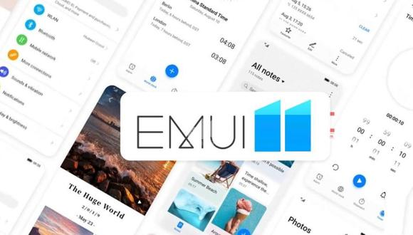 Conoce cuáles son los celulares de Huawei que recibirán EMUI 11. (Foto: Huawei)