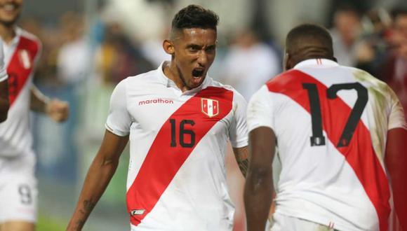 Para el Perú vs. Brasil, el único recambio sería la salida del golpeado Christian Cueva por Christofer Gonzales. (Foto: Fernando Sangama - GEC)