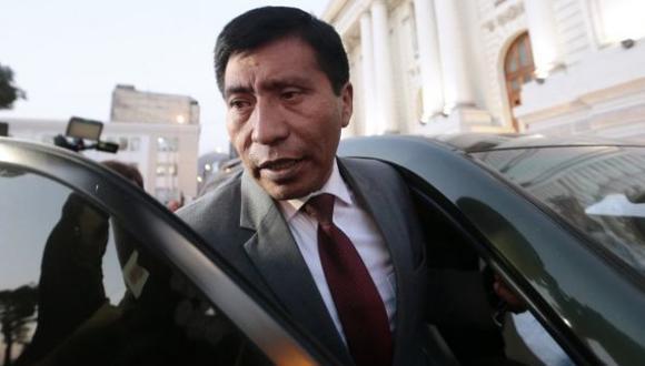 Ética dio luz verde a dos indagaciones contra el legislador de Fuerza Popular Moisés Mamani. (Foto: Alessandro Currarino/ Archivo El Comercio)