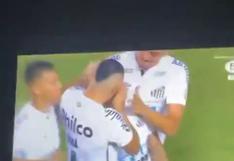 Neymar estalla de felicidad en Instagram durante la goleada de Santos ante Boca   VIDEO