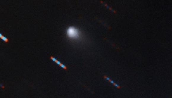 Primer cometa interestelar C/2019 Q4 (Borisov) (GEMINI OBSERVATORY/NSF/AURA)