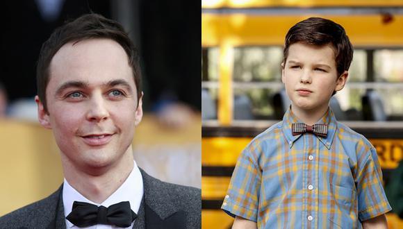 A la derecha el pequeño Sheldon Cooper. (Fotos: Reuters/CBS)