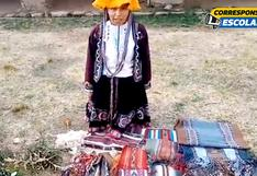 Conoce sobre la textilería en la comunidad de Chahuaytire