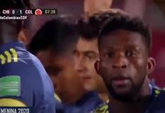 Chile vs. Colombia: Jefferson Lerma firmó el 1-0 en Santiago con gol de cabeza | VIDEO