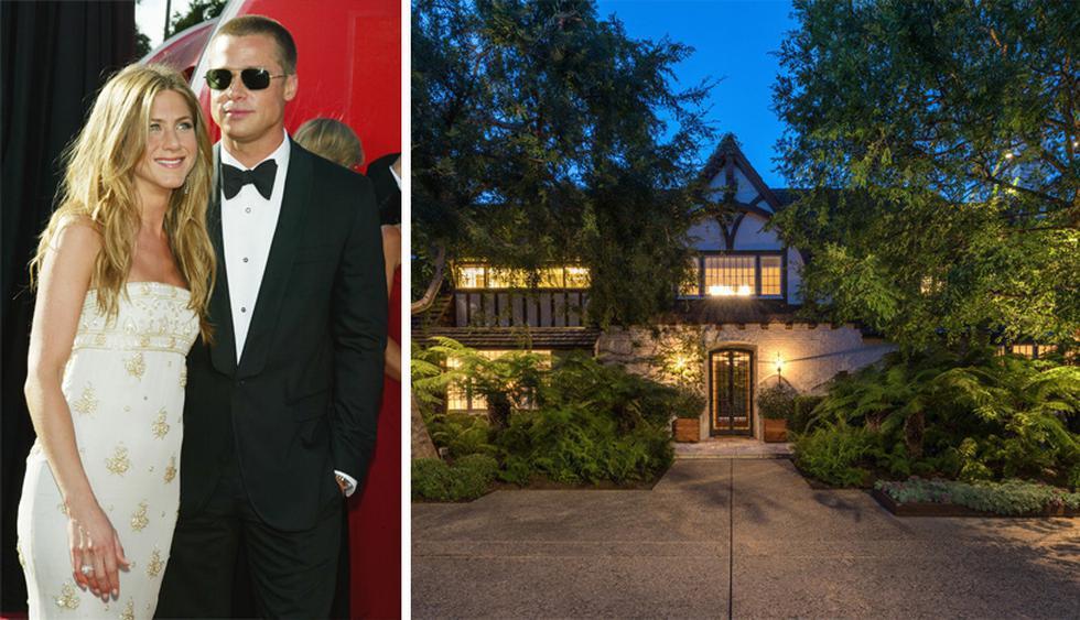 Jennifer Aniston vivieron en esta mansión hasta el 2006. Fue diseñada por el arquitecto Wallace Neff en la década del treinta. (Foto: Difusión)