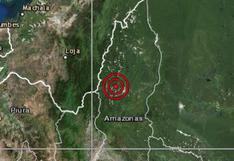 Sismo de magnitud 4,3 se percibió esta madrugada en Amazonas