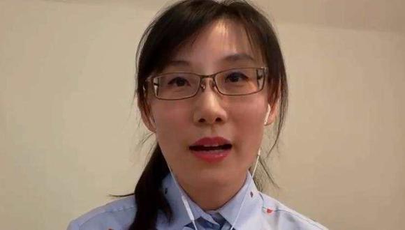 La viróloga china Li-Meng Yan contradijo las versiones oficiales conocidas hasta el momento y afirmó que el coronavirus no proviene de la naturaleza ni salió del mercado de Wuhan.  Foto: Captura Fox News