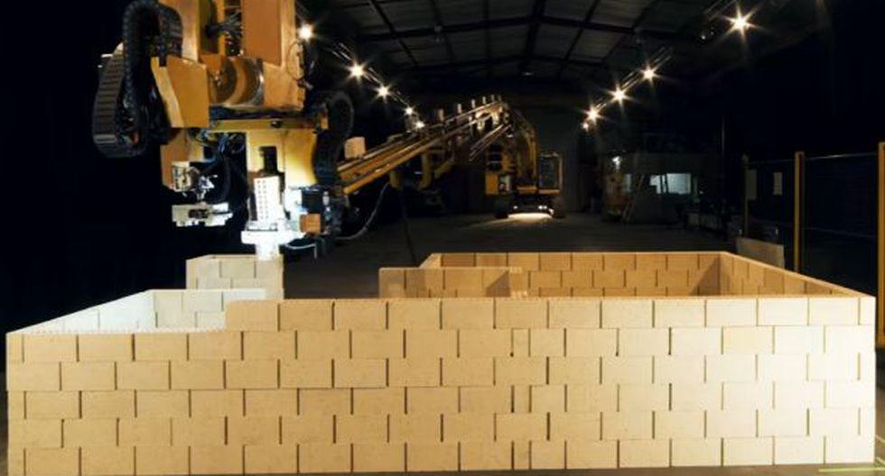 Este robot albañil puede construir una casa en dos días [VIDEO]