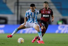 Racing igualó 1-1 frente a Flamengo por la ida de octavos de final de la Copa Libertadores