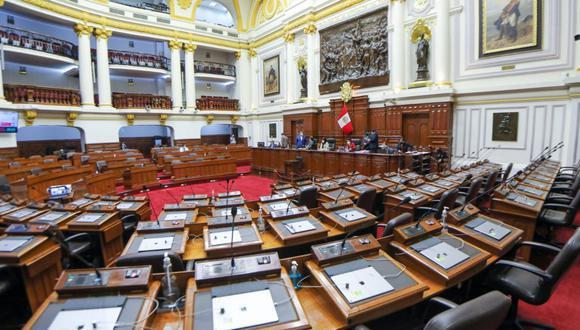 """El Pleno del Legislativo fijó como mínimo """"un año de afiliación"""" para poder participar en las Elecciones Municipales y Regionales el 2022. (Foto: Congreso)"""