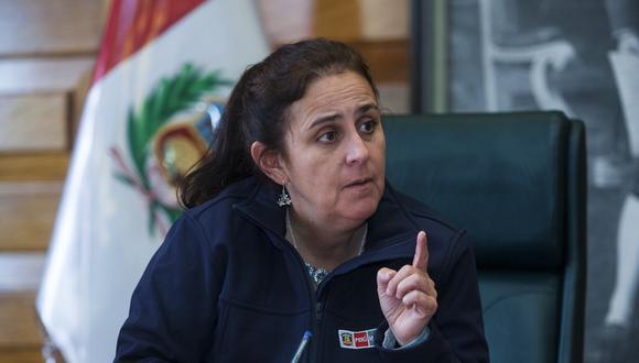 García es médica experta en salud pública. Fue ministra de julio del 2016 a setiembre del 2017. (Foto: Eduardo Cavero / Archivo El Comercio)