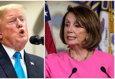 """Trump dice que Pelosi está """"loca"""" y """"no entiende"""" el acuerdo comercial con México y Canadá"""