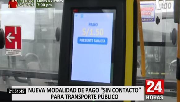 La medida se ha implementado en 850 buses de empresas como La 50, Urbanito, Etuchisa, Etupsa 73, Santa Cruz, El Rápido, Translicsa y Rosario de Santa María y Nueva América. (Foto: captura de video)