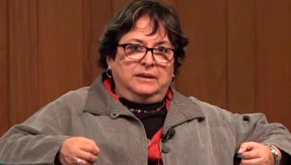 """""""La corrupción y el mal manejo de los recursos no es parte de lo que hacemos"""", afirma categórica la Ministra de Cultura, Sonia Guillén. (Foto: Goethe Institut)"""
