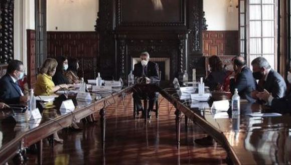 Los integrantes del Consejo de Estado declararon que ellos no fueron vacunados contra el coronavirus (COVID-19). (Foto: Presidencia Perú)