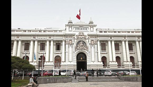 El 26 de enero próximo serán las elecciones para el nuevo Congreso de la República. Actualmente solo se encuentra en funciones la Comisión Permanente. (Archivo El Comercio)