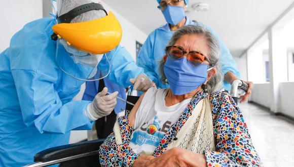 El Padrón Nacional de Vacunación forma parte de la nueva estrategia del Gobierno para inmunizar contra el COVID-19 (Foto: Andina)