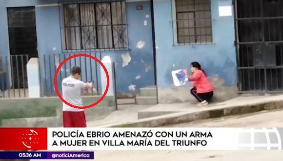 El Mininter anunció medidas drásticas contra el suboficial PNPMario Hurtado Palomino. (Captura: América Noticias)