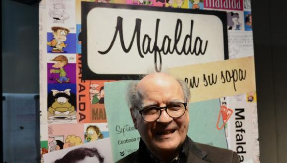 El verdadero origen de Mafalda de Quino (Foto: Quino)
