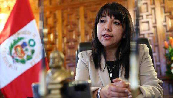 Vásquez dejó la Mesa Directiva para participar en el debate y señalar su posición en contra de desacatar orden judicial. (Foto: GEC)