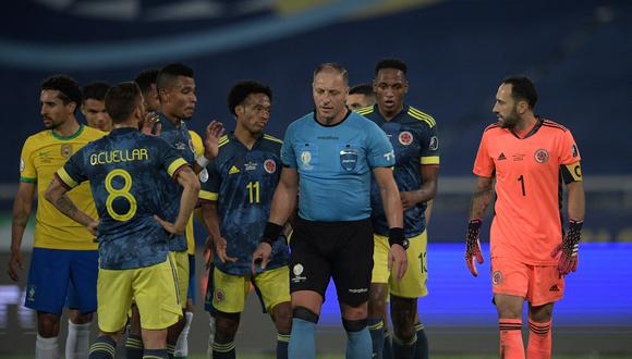 En la próxima jornada de la Copa América, Colombia descansará. Termina su participación con 4 puntos en el torneo (Foto: AFP)