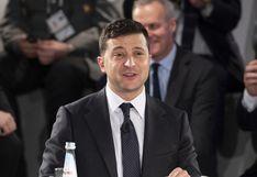 Presidente ucraniano quiere pasar página tras proceso de destitución de Trump