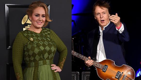 Paul McCartney trabaja en nuevo álbum con el productor de Adele