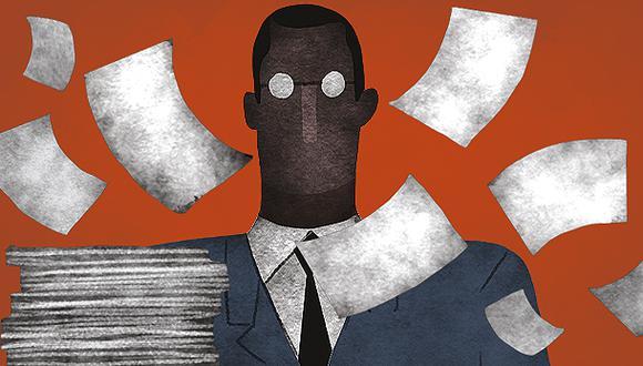"""""""Un gobierno digital permitirá, por supuesto, aligerar los trámites que los ciudadanos realizan ante al Estado"""". (Ilustración: Víctor Aguilar)"""