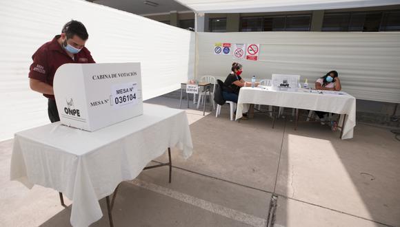La ONPE trabajó durante toda la semana para dar a conocer los primeros resultados oficiales de las Elecciones Generales 2021 en Perú | Foto: GEC