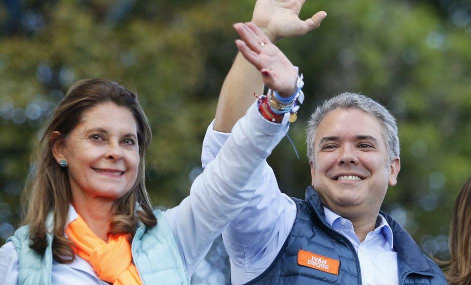 Marta Lucía Ramírez, la compañera de fórmula del presidente electo de Colombia, Iván Duque. (Foto: AP/Fernando Vergara)