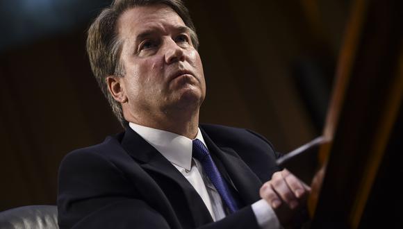 """El presidente del Comité Judicial del Senado afirmó que las declaraciones falsas de la mujer sobre Kavanaugh son """"potencialmente ilegales"""". (Foto: AFP)"""