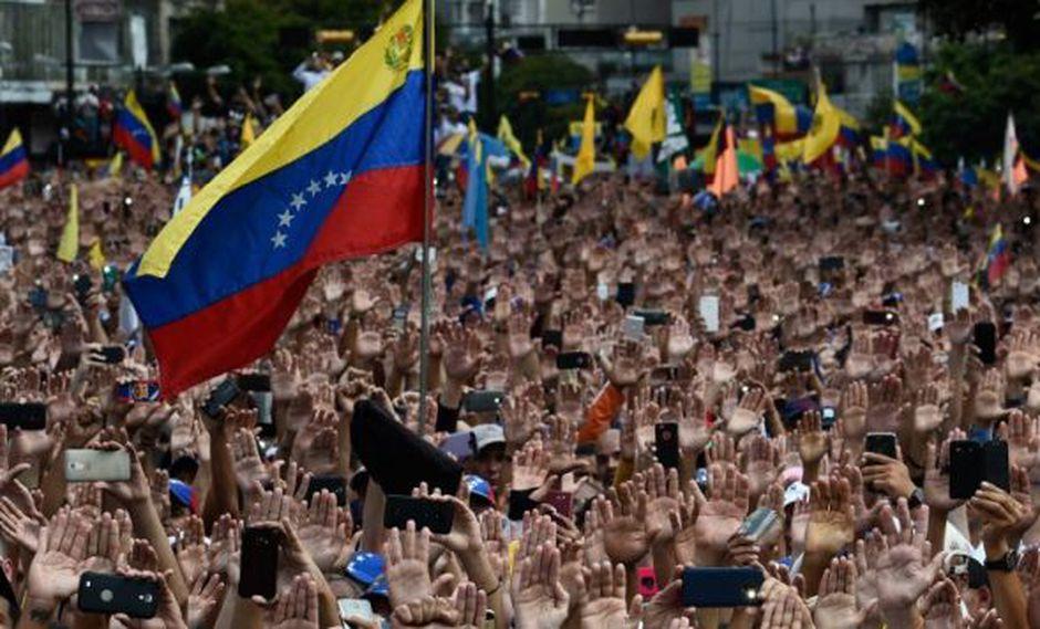 """Rusia criticó a los países occidentales por su apoyo a Guaidó estimando que """"muestra su actitud hacia el derecho internacional"""" y el principio de """"no injerencia"""". (Foto: AFP)"""