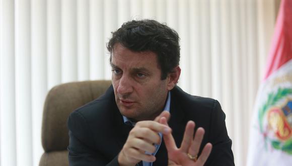 Renzo Reggiardo, candidato a la alcaldía de Lima por el PPS. (Foto: Archivo El Comercio)