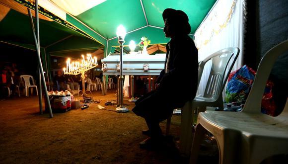 Vraem: velan las ropas de las personas asesinadas en San Miguel del Ene (Alessandro Currarino / El Comercio)