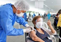 Vacunación contra el COVID-19 a personas de 60 años a más podría iniciarse antes de terminar mayo