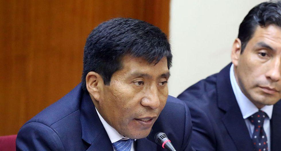 El congresista Moisés Mamani fue suspendido 120 días por recomendación de la Comisión de Ética. (Foto: Congreso de la República)