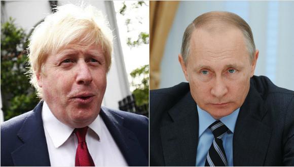 """Reino Unido: """"Régimen de Putin está empuñando el arma en Siria"""""""