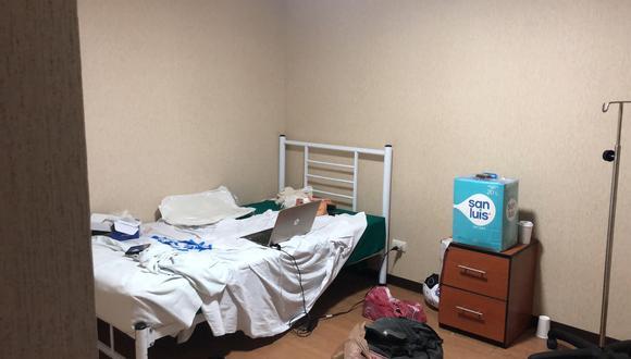 Valeria Ramos fue declarada paciente con Covid-19 y trasladada a la Villa Panamericana el 5 de abril.