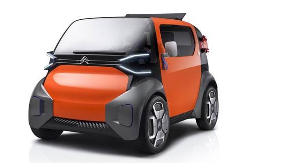 El Ami One no está pensado para su producción, sino para explicar una forma posible en que funcionarán los coches del futuro. (Foto: Citroen)
