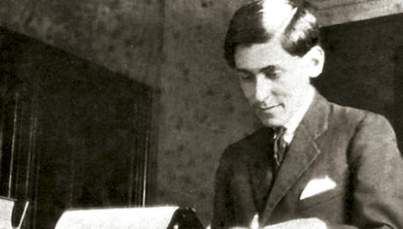José Carlos Mariátegui escribió su 7 Ensayos de Interpretación de la Realidad Peruana en 1928 con su inseparable máquina Underwood. (Foto: El Viejo topo)