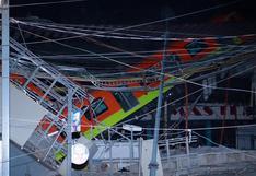 El momento exacto en el que se desploma la estructura del metro de Ciudad de México [VIDEO]