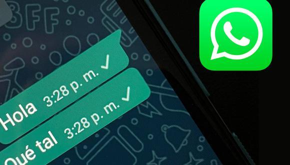 Conoce el método para cambiar la hora en los mensajes enviados en WhatsApp. (Foto: MAG)