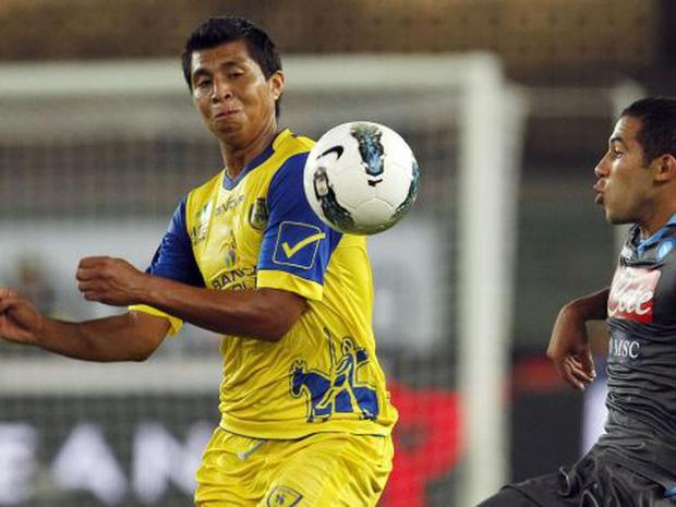 Il peruviano è venuto a giocare a Calcio per la stagione 2011-12.  (Foto: Reuters)