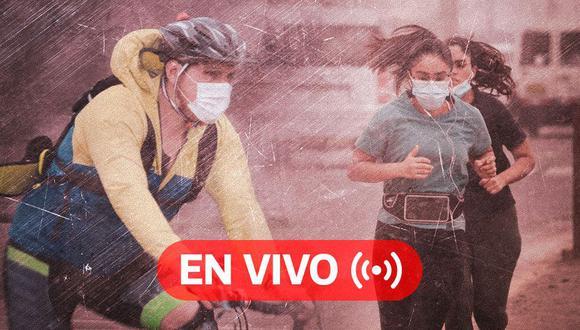 Coronavirus Perú EN VIVO | Últimas noticias, cifras oficiales del Minsa y datos sobre el avance de la pandemia en el país, HOY martes 6 de octubre de 2020, día 205 del estado de emergencia por Covid-19. (Foto: Diseño El Comercio)