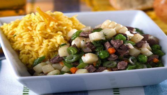 Guisito de carne y verduras