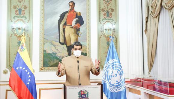 La ONU ha cifrado en unos 5 millones de personas las que han debido abandonar Venezuela en busca de un futuro mejor. (Foto: EFE/EPA/MIRAFLORES PRESS)